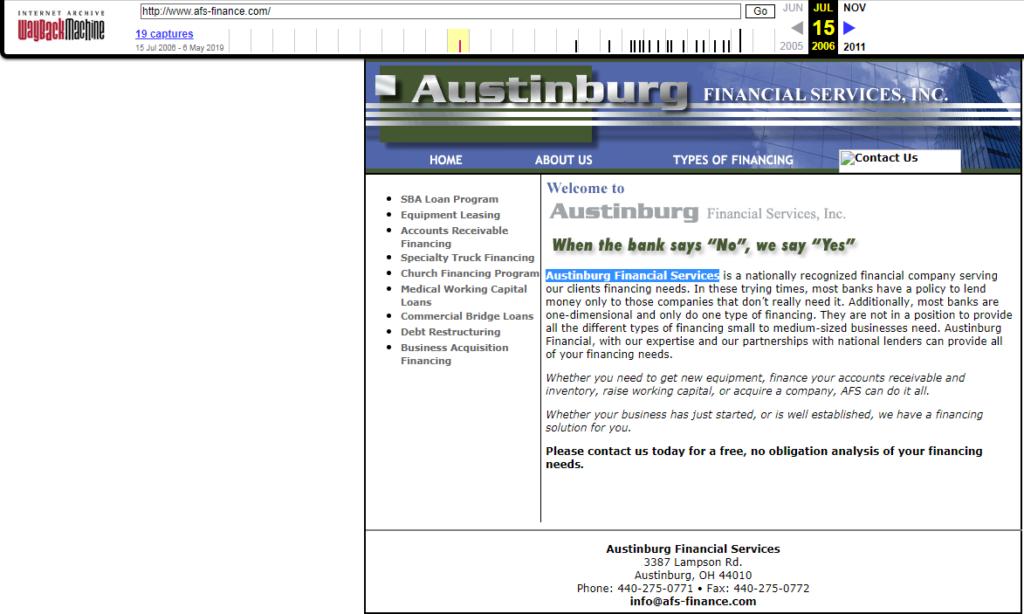 Austinburg Financial Services