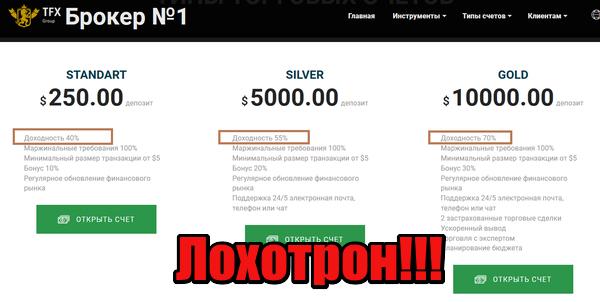 TFX Group мошенники, жулики. аферисты