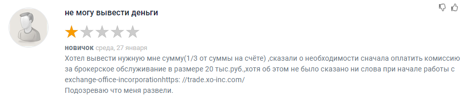 Exchange Office Incorporation отзывы